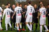 'Spartaka' futbolisti principiālā virslīgas mačā uzvar 'Jelgavu'