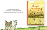 Klajā nāk Raiņa un Aspazijas populārāko dzejoļu izlase bērniem
