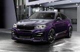 Krievu 'TopCar' pārveidotais 'BMW X6' plūmju krāsā