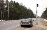 На латвийских дорогах начнут работать еще четыре стационарных фоторадара (КАРТА)