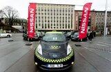Tallinā darbu sāk elektriskie 'Nissan Leaf' taksometri