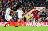 Latvijas U-21 izlases futbolisti EČ kvalifikācijas mačā zaudē Anglijai