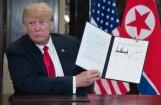 CNN раскрыл содержание подписанного Трампом и Ким Чен Ыном документа