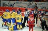 Krievijas hokeja izlases aizsargam Kaļiņinam piespriesta trīs spēļu diskvalifikācija