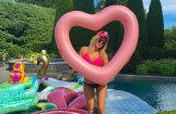 Satraukumu raisa privāts foto ar Trampa meitiņu bikini