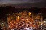 Барселона: сотни тысяч требовали освобождения лидеров Каталонии