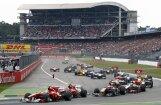 Apdraudēta F-1 Vācijas 'Grand Prix' turpmākā norise