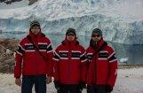 Latvijas polārpētnieki Antarktīdā sākuši savus pirmos pētījumus