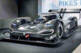 VW elektriskais bolīds, ar ko plāno pārspēt Andra Dambja 'PP100' rekordu Paikspīkā