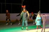 Foto: Ausaiņi un astaiņi tiekas ledus karnevālā Preiļos
