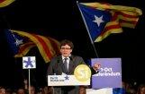 Katalonija nevēlas traumatisku atdalīšanos, uzsver Pudždemons