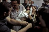 Умерший младенец стал символом кровопролития в Газе