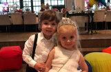 Privāti kadri: Galkina un Pugačovas dvīņi svin dzimšanas dienu