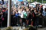ФОТО, ВИДЕО: Какой ажиотаж у рижских фанов вызвало появление Роналду