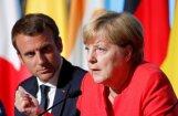 Merkele apsveic Makrona aizrautību, nesteidzas ar ES reformu plānu vērtēšanu
