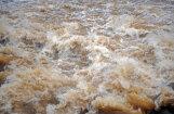 Ogrē no applūdušajām teritorijām ūdens atkāpies; pastiprināti uzrauga Ogres upes posmu pie Lašupēm