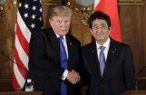 Japāna varētu notriekt Ziemeļkorejas raķetes, brīdina Tramps