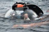 ФОТО, ВИДЕО: Путин в Крыму погрузился в батискафе на дно Черного моря