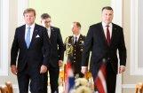 ФОТО: Встреча короля Нидерландов с президентом Латвии Вейонисом