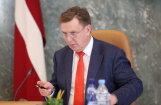 Premjers: Rimšēviču ir aizturējis KNAB; draudu Latvijas finanšu sistēmai nav