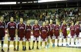 Latvijas vīriešu basketbola  izlase pārbaudes spēlē piekāpjas Lietuvai