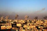 Karte: Sīrijas valdības karš pret opozīciju atkal uzņem apgriezienus