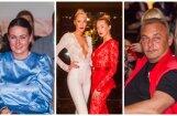 Foto: Pašmāju slavenības Melngalvju namā bauda smalku modes šovu