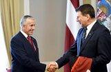 Hārtlijs: mana prioritāte bija turpināt darbu ar Latvijas izlasi