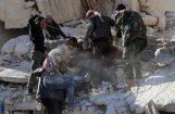 'Šis vīrs meklē savu dēlu': aktīvists parāda uzlidojumu sekas Alepo