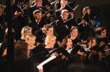 Foto: Izskanējis Starptautiskās garīgās mūzikas festivāla jaundarbu koncerts
