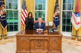 Tramps Baltajā namā ticies ar Kimu Kardašjanu