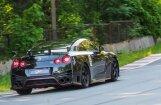 Minišosejas moto apļa posmā Liepiņš ar 'Nissan GT-R' nostiprina līdera statusu