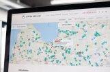 Publicē ceļu remontdarbu karti