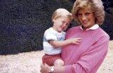 Princese Diāna nāves dienā runājusi ar Viljamu un Hariju