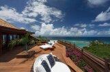 Foto: Paradīzes sala, kur atpūšas Obama ar sievu