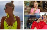 Krāšņi foto: Samanta Tīna atpūšas Turcijā