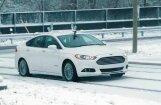 Video: 'Ford' ķēries pie bezpilotu auto pēdējā šķēršļa – sliktiem laikapstākļiem