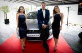 Foto: 'Peugeot' Latvijā prezentējis jauno '508' un 'Rifter' modeli