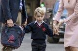 Princis Džordžs uzsāk skolas gaitas; satraukumu raisa hercogienes veselības stāvoklis