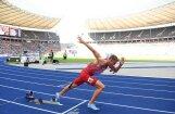 Jānis Leitis Eiropas čempionātā divas dienas pēc kārtas labo Latvijas rekordu 400 m sprintā