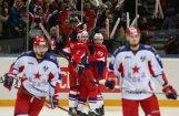 'Lokomotiv' no Gagarina kausa izslēdz izslēdz regulārā čempionātā uzvarētāju CSKA