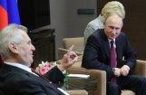 Čehijas prezidents skubina atcelt Krievijai noteiktās ES sankcijas