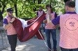 Monblānā plāno pacelt Latvijas karogu, uzstādot Ginesa rekordu