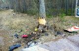Jūrmalā 'Hyundai' iebrauc kokā un divi cilvēki iet bojā