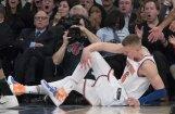 ВИДЕО: Порзиньгис получил тяжелейшую травму колена