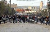 Foto: Arābu pavasara dzimtenē Tunisijā jauni protesti cenu lēciena dēļ