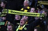 Dortmundes 'Borussia' komanda priekšlaicīgi triumfē Vācijas bundeslīgas futbola čempionātā