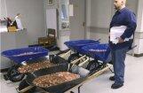 Foto: ASV iedzīvotājs nodokļus par auto nomaksā ar 300 tūkstošiem monētu