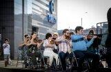 Foto: LNSO sezonu iesilda ar koncertu Stacijas laukumā