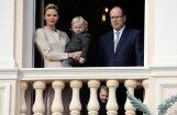 Sirsnīgi foto: Monako karaliskie dvīņi apbur pavalstniekus